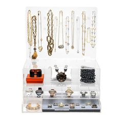 Glamluxe jewelry storage