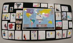We love our little skaters!  Thank you to all of our little artists!  We hang your art with Pride!