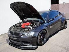Liberty Walk BMW M3 is a Diamond Black Beast