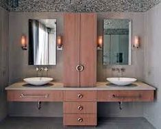 A constant inclusion on lists of Modern Contemporary Bathrooms, Modern Master Bathroom, Ikea Sinks, Bathroom Vanities, Bathroom Ideas, Wall Mounted Sink, North Carolina Homes, Austin Homes, Shower Panels