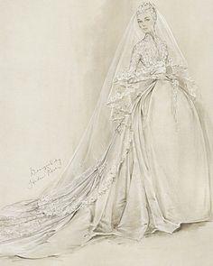 Princess Grace by Helen Rose 1956