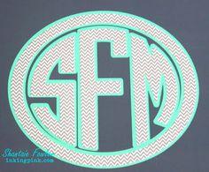 Petterned Vinyl Monogram by Shantaie Vinyl Monogram, Lap Desk, Patterned Vinyl, Stickers, Vinyls, Blog, Diy, Gifts, Decor