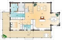 Kruunuhaka A, kerros 1 Floor Plans, Home, Ad Home, Homes, Haus, Floor Plan Drawing, House Floor Plans, Houses
