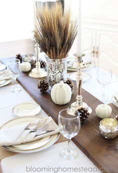 12 Easy and Gorgeous DIY Thanksgiving Centerpieces