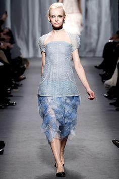Chanel Spring 2011 Couture Fashion Show - Ginta Lapina (Women)
