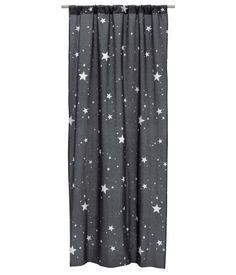 Tip voor de #jongenskamer #gordijn met #sterren | H&M @hmnetherlands