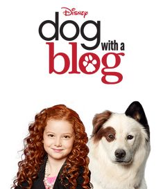 """Chloe and Stan in """"Dog With a Blog"""""""