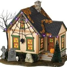 do you decorate with a halloween village on this page youll find an - Ceramic Halloween Decorations