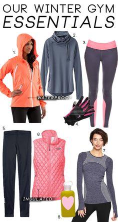 Our Winter Gym Essentials | theglitterguide.com