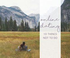 10 Online Dating No No's http://www.confessionsofasinglemum.co.uk/10-online-dating-no-nos/