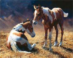 Les chevaux par les peintres - Bonnie Marris
