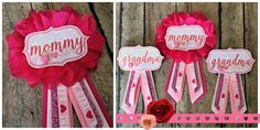 Valentine's Day Baby Shower : HappilyEllieAfter.Etsy.com