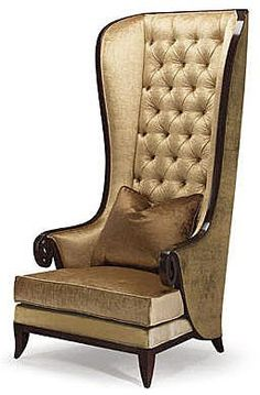 Champslyses Tall and handsome this high back chair is