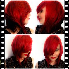 Red, red, red with #Chromashine CHI Red #CHIColor by Farouk Systems Artist Anna Cantu
