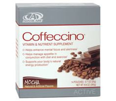Coffeccino is a great mocha-flavored supplement for anyone looking for increased energy and mental focus.*Coffeccino contains ingredients that help suppress your appetite and provide essential nutrients.*