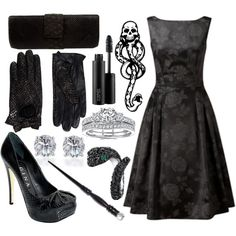 I'm not a Potterhead, but I still think this could be a pretty sweet outfit for a night out