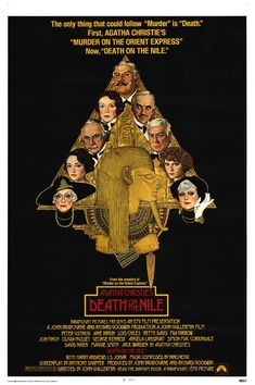 Death on the Nile (1978). All you need to know is: Mia Farrow as a revenge-obsessed jilted lover; Angela Lansbury as a drunken, sex-obsessed romance novelist; and -- the piece de resistance -- Maggie Smith and Bette Davis as bickering travelling companions.