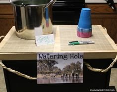 Watering Hole 2 - Wild Kratts Party.  I pinned this one because there are lots of ideas for food and party games.