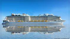 Anthem of the Seas - February 2015 - K3 0501d1500 - Cruise Ships from Papenburg / Germany