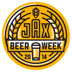 Jacksonville Beer Week is currently underway and Kendrick Kidd provided this incredible logo to accompany the festivities.