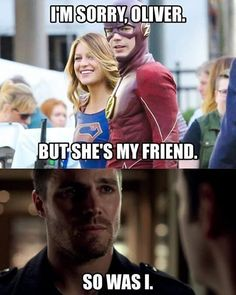#Supergirl ✊ #TheFlash ⚡ memes