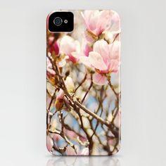 iPhone4 Case Pink Magnolia Shop