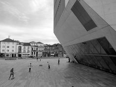 Casa da Musica's in Porto, Portugal, purple Diary