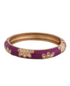 Hinge Opening Bracelet... It makes me think of India :)