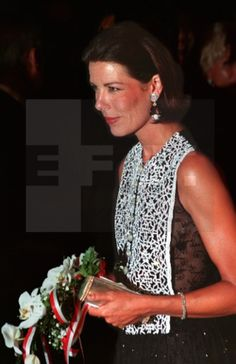 Princess Caroline of Monaco. August 6, 1993.