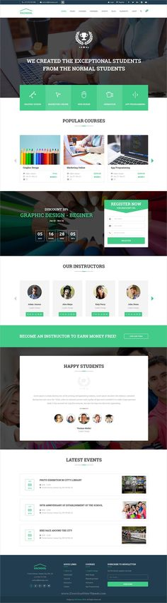 262 Best Web Design - Education images in 2019 | Design web, Design