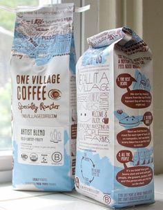 coffee bag by etta