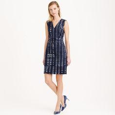 Indigo adire dress : dresses | J.Crew