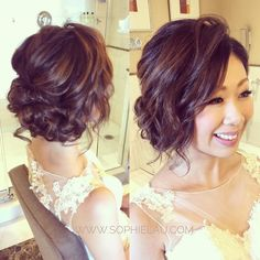 Lovely relaxing look for the party! Bride jessica makeup and hair by @sophielaumakeup #sophielaumakeup www.sophielau.com  #Bridalworkshop Sydney/Melbourne enrol link please see Bio  #makeup #asianweddingmakeup #asianmakeup #weddingmakeup  #makeuplesson #bridalmakeup #asianbridalmakeup #makeupartistsworldwide #featuring_mua #makeupfanatic1 #bridalupdo #updo #hair #hairstyle #weddinghairstyle  #weddinghair #bridalhair #bridalhairstyle  #aisanbridalhair