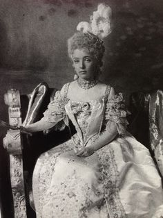 The Duchess of Newcastle. 1890's