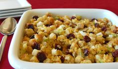 Cherry Cornbread Stuffing