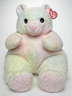 8fada59d84f Bearbaby (Ty-dye) - Bear - Baby Ty Beanie Babies Value