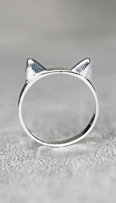 Cute Cat Ear Ring