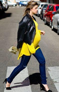 look-gravida-sueter-e-jeans