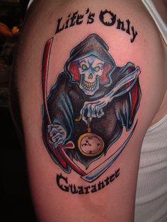 Grim Reaper Tattoo Pictures
