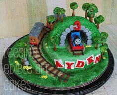 Penang Wedding Cakes by Leesin: Thomas Train Cake