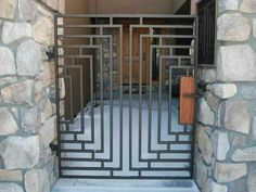 Simple wrought iron