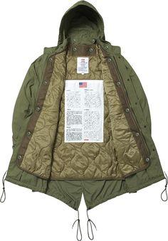 The parka Jacket Mens Parka Jacket, Parka Coat, Fashion Wear, Mens Fashion, Masculine Style, Field Jacket, Military Fashion, Winter Jackets, Menswear