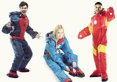 Marvel by Selk'bags: Wearable Sleeping Bags For Superheroes http://www.coolthings.com/marvel-by-selkbags/