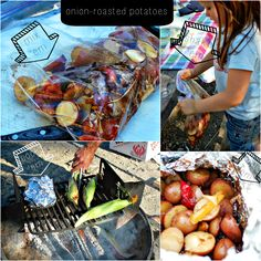 oven-roasted potatoes | lipton soup packet | camping food | foodieVALENTINE | travelBUG | everydayVALENTINE blog