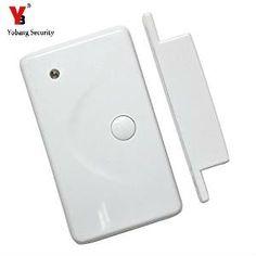 YobangSecurity Wireless Door Gap Window Sensor Magnetic Contact 433MHz door detector for home security alarm system #Affiliate