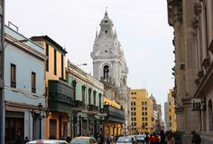 Calle Carabaya in Lima, Peru