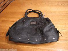 Fox Racing juniors womens black purse handbag tote $64.50 NEW NWT RARE braided