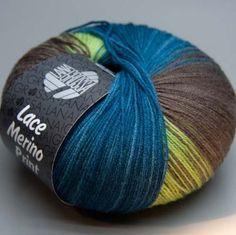 Lana-Grossa-Lace-Merino-Print-102-gruen-bunt-50g-Wolle