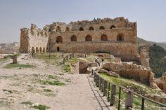 Crusader castle of Kerak, Jordan