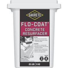 Visit The Home Depot to buy SAKRETE 20lb Sakrete Flo-Coat Resurfacer 65450007